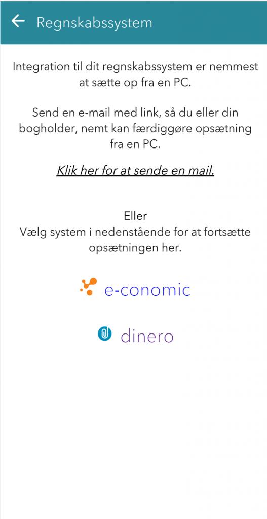 Nem invitation til Kontolink og adgang ti lbialg