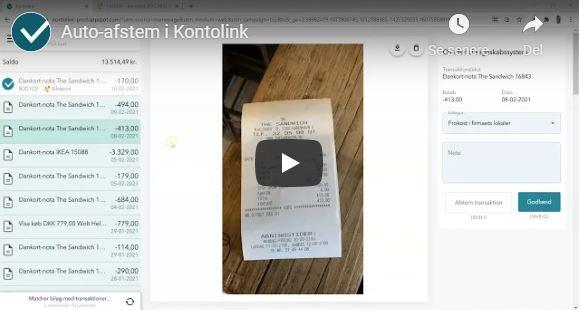 Nyhed: Automatisk bankafstemning direkte fra telefonen