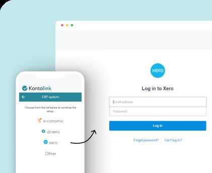 Connect Xero to Kontolink